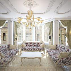 Дизайн-проект квартиры в классическом стиле