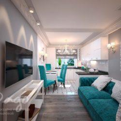 Дизайн-проект квартиры в современной классике