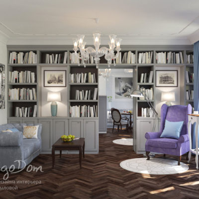 Дизайн квартиры в современной классике