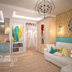Дизайн квартиры в средиземноморском стиле
